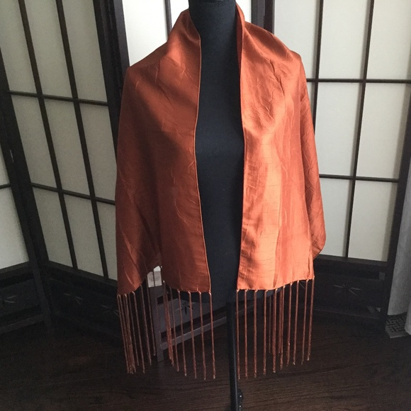 Alfred Sung Wrap with Tassels